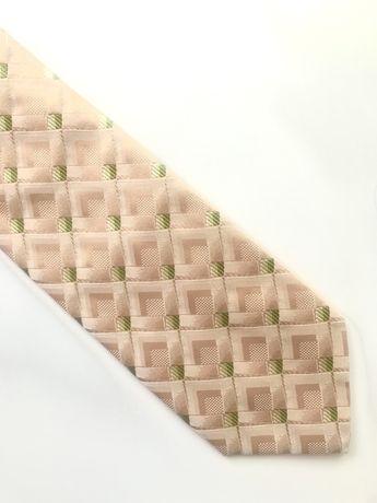 NOWY  jedwabny krawat Lantier