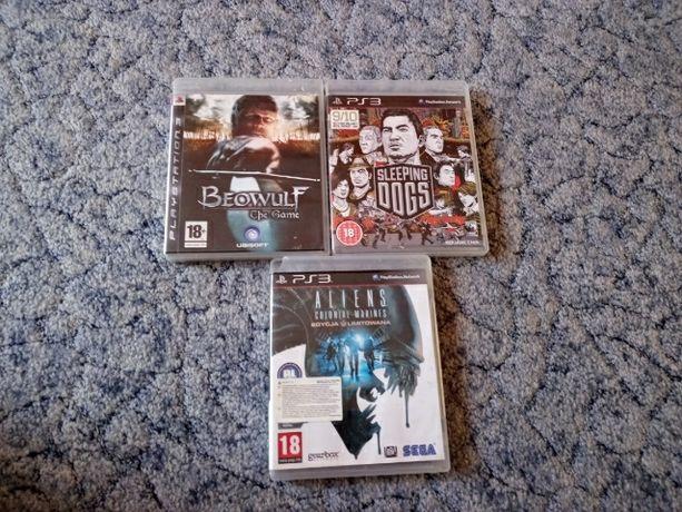 Sprzedam 3 Gry na PS3 Beowulf ,Sleeping dogs , Aliens colonial marines