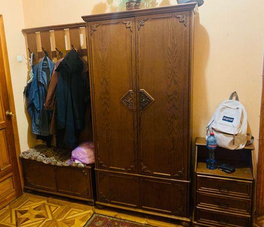 прихожая комплект (шкаф, тумба, комод, вешалка, зеркало)