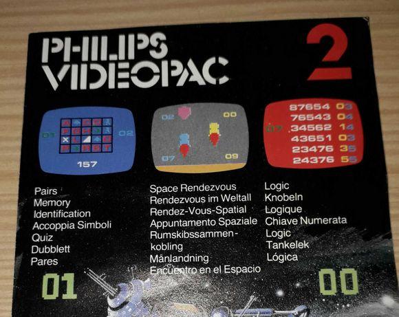 Jogo Philips Videopac - para consola - para Colecionador
