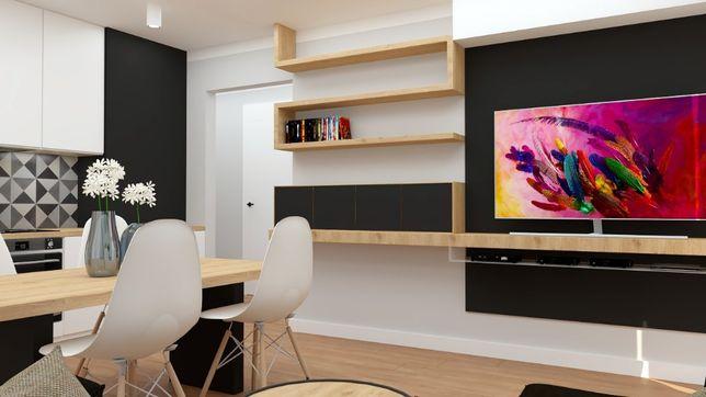 Mieszkanie, 53,84 m², Kielce