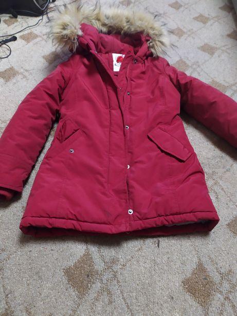 Куртка зимняя,термо на девочку