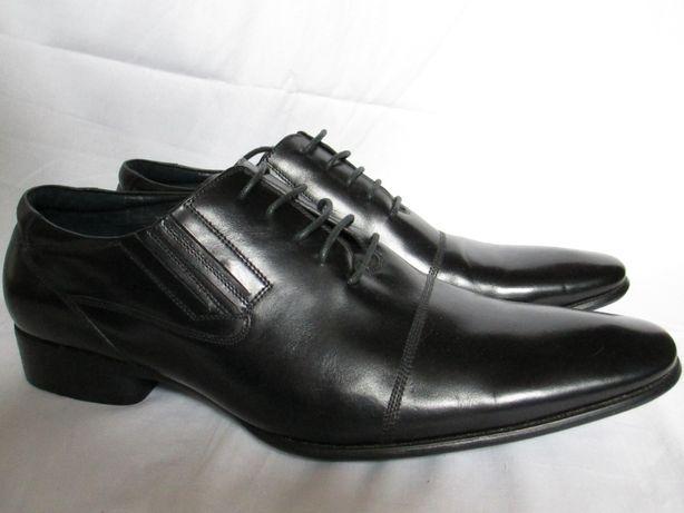 Чоловічі класичні шкіряні туфлі (оксфорди) biffo men classik 45 розмір