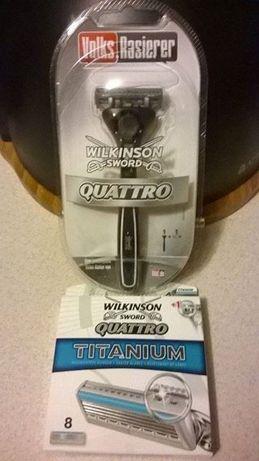 Wilkinson sword Quattro rączka + 9 nożyków