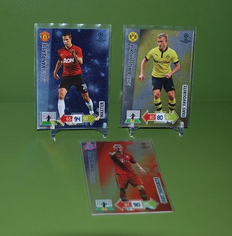 Panini CHAMPIONS LEAGUE 2012/2013 + UPDATE - karty Limited, Legend