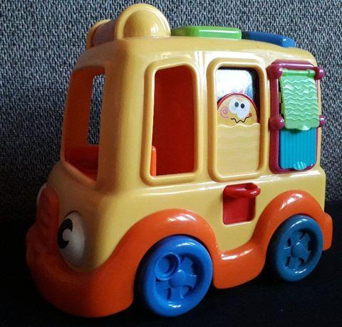 2 zabawki Samochód ślimak prezent Fisher Price kolorowy dla dziecka