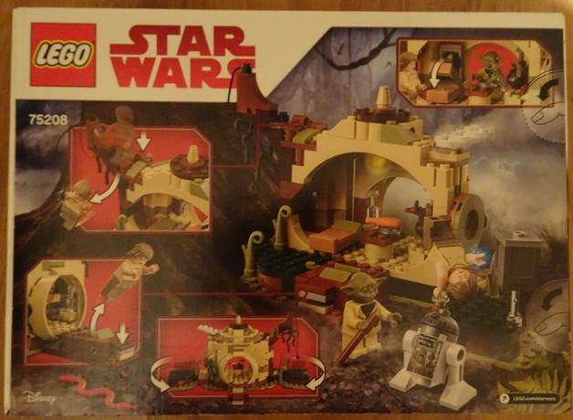 Nowe Klocki LEGO Star Wars Chatka Mistrza Yody 75208