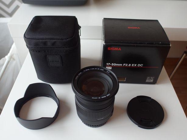 Sigma 17-50 F2,8 EX DC HSM Sony A