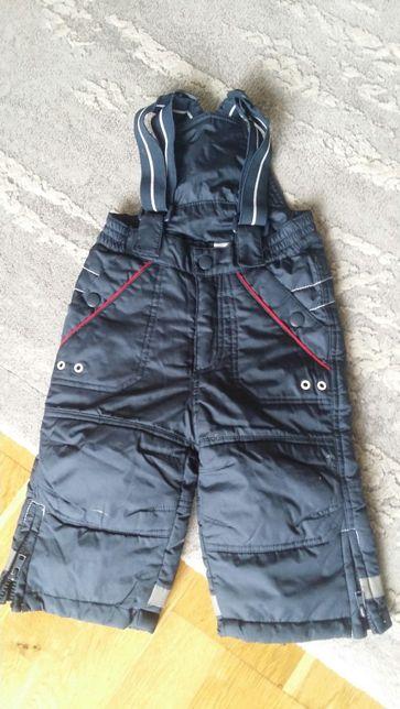 Spodnie narciarki sniegowce reserved 68 cm
