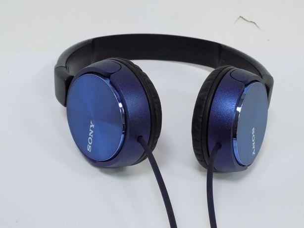 Słuchawki Sony  MDRZX310L Nauszne, Jak Nowe, Paragon
