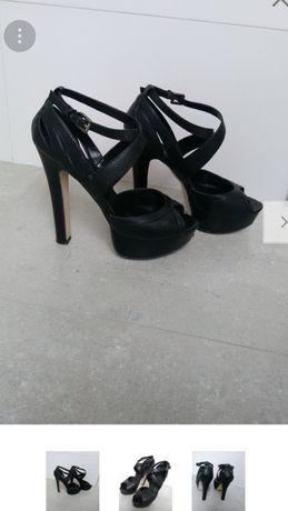 Sandały buty Aldo 38 skóra naturalna 24,5 cm