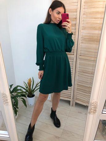Изумрудное платье New Look