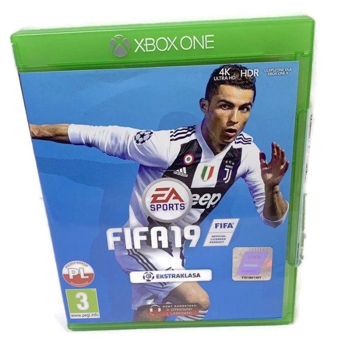 Fifa 19 Xbox One komplet Bydgoszcz - image 1