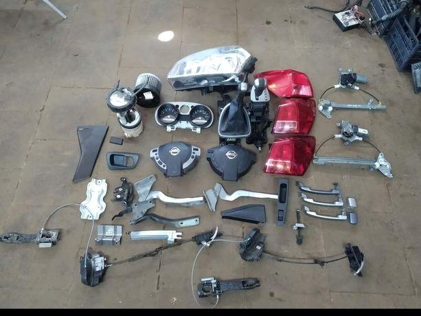 Запчасти Разборка Nissan Qashgai  Кашкай Двигун КПП раздатка редуктора