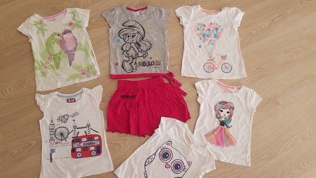 Koszulki z krótkim rękawem t-shirt smyk 5 10 15 c&a