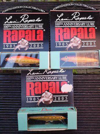 Woblery, wobler Rapala original okazjonalna limitowana edycja