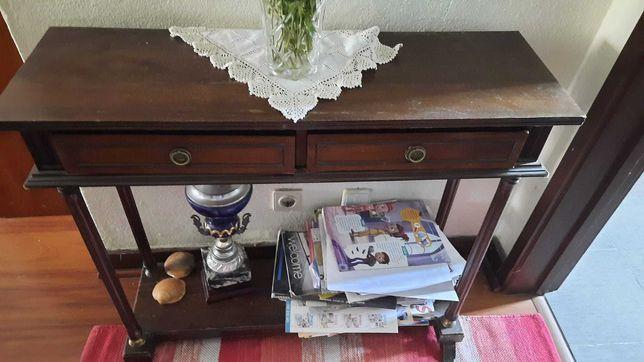 Consola de entrada com espelho