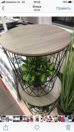 столик подставка корзина горшок