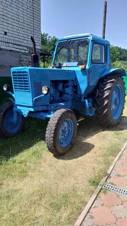 Продам трактор МТЗ-80, 1994 року з причепом ПСЕ-12,5 и культиватором