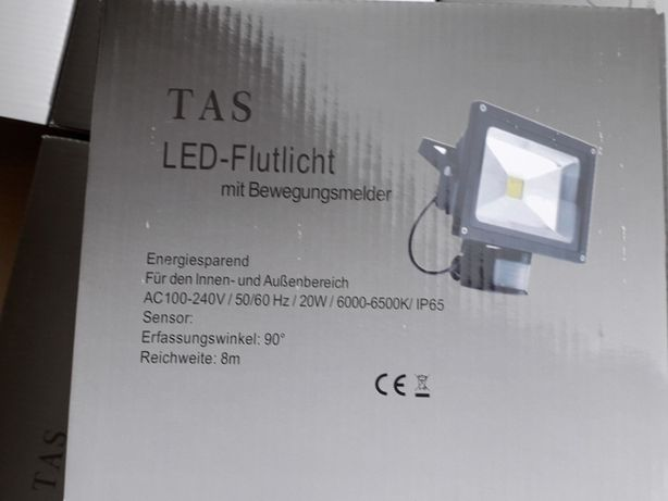 Halogen TAS - lampa LED z czujnikiem ruchu