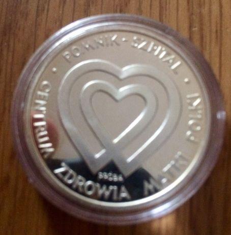 Pomnik  Matki Polki 1985 Moneta 1000 Probna  Srebro naklad 2500 szt