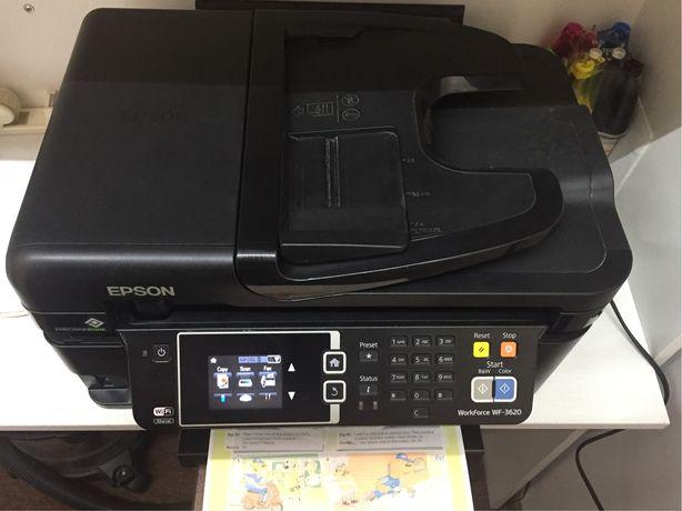 МФУ, принтер, сканер, факс, Epson WF 3620