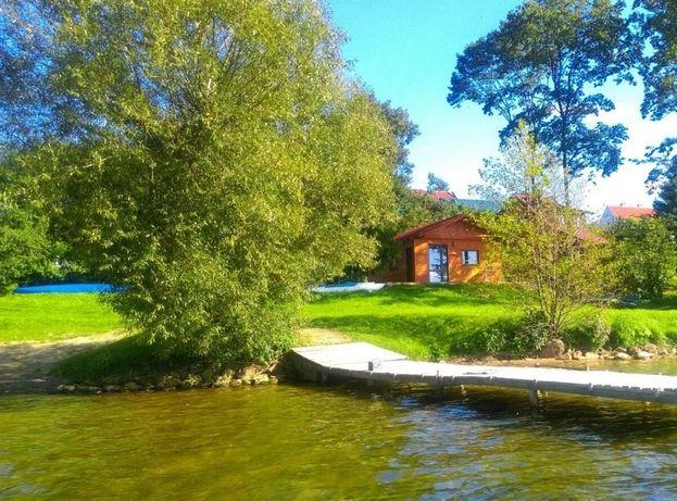 Domek na Mazurach nad jeziorem Gołdapiwo