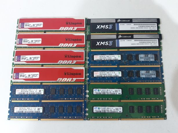 Оперативная память DDR3.4GB