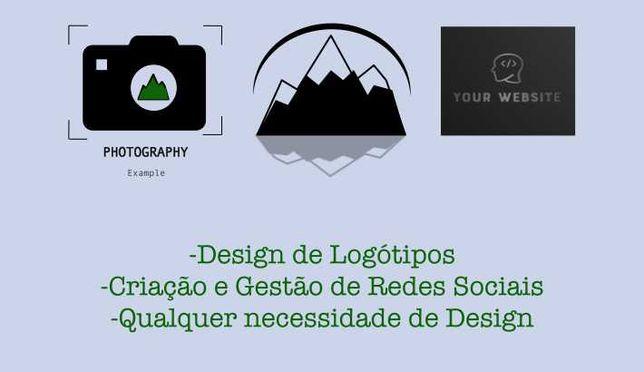 Criação de Logótipos, Websites e Aplicações Móveis