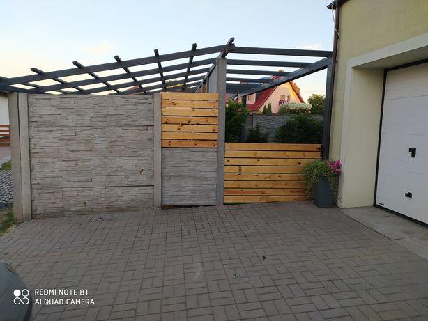 Usługi stolarskie sauny wiaty altany zadaszenia