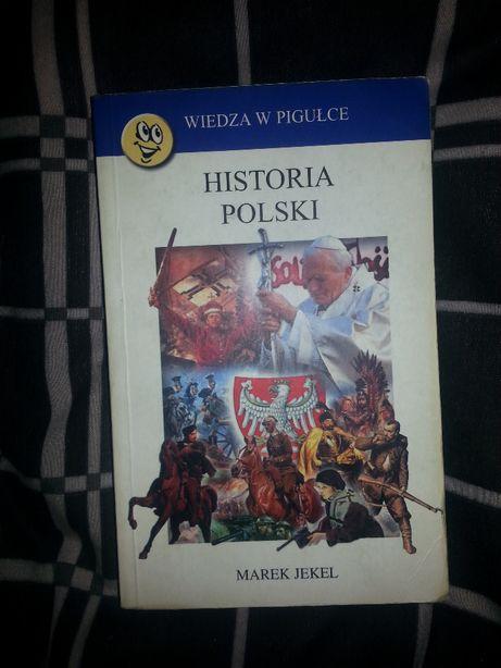 ksiązka Historia Polski Wiedza w pigułce