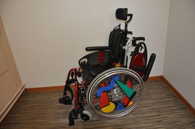 Wózek inwalidzki dziecięcy Sopur siedzisko 36cm