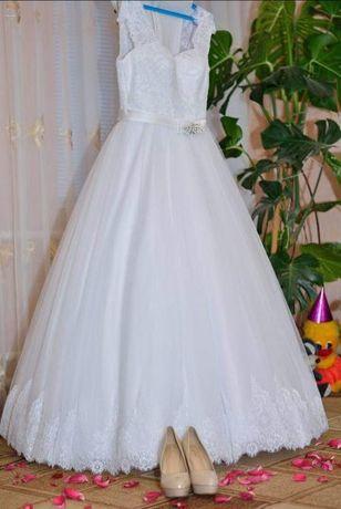 Счастливое! Свадебное платье!