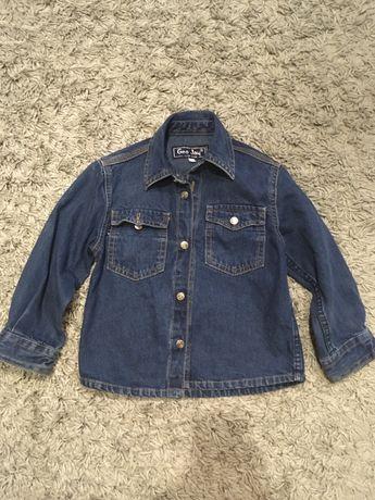 Джинсовая рубашка 3-4 года