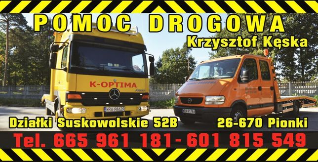 POMOC DROGOWA 24H laweta transport samochodów maszyn rolniczych !