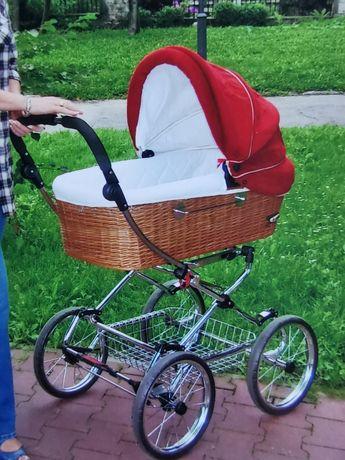 Wózek retro gądola i spacerówka