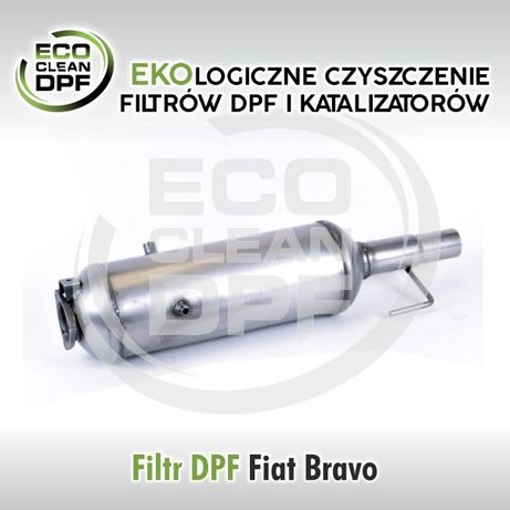 Fiat Bravo 1.9 - Filtr cząstek stałych DPF, katalizator - ecdpf.pl