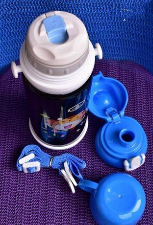 Термос поилка детская+чашка