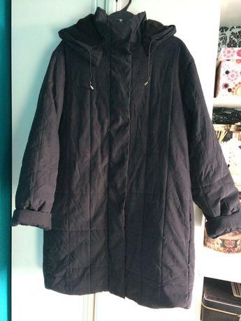 Granatowa kurtka zimowa roz 50