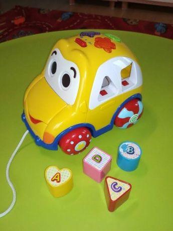 Zabawka auto wesołek samochód sorter Smily Play