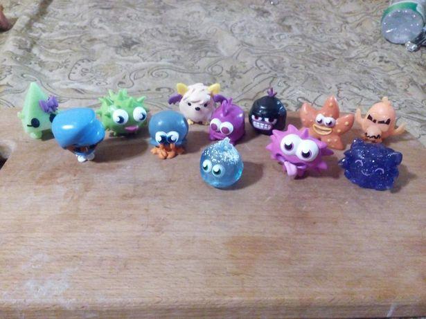 Фигурки Moshi Monsters VTG 3-4 см