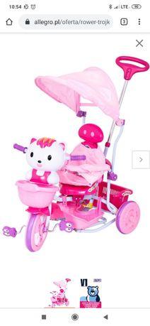 Rowerek trzykołowy Hello Kity