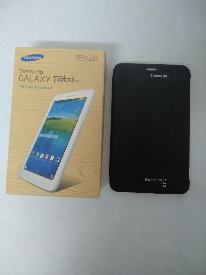 Samsung Galaxy Tab3 Lite 8GB White Paranhos - imagem 1