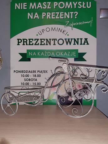 Kwietnik stalowy rower