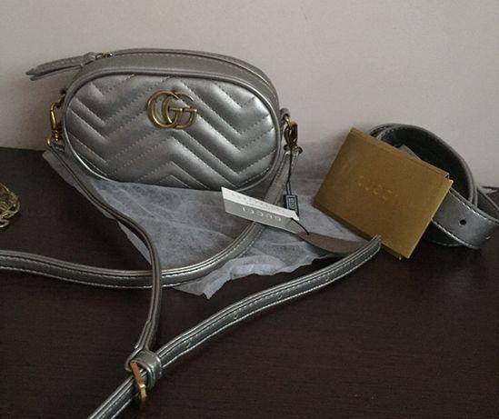 Поясная сумка gucci gg marmont гуччи на пояс