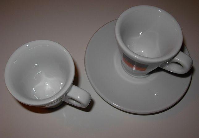 Filiżanki do espresso komplet 6 sztuk Caffe Vergnano