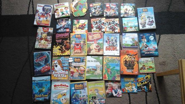 CD na PC Lego, Bat-man, Bob Budowniczy, Auta, Dolot, Kot w butach