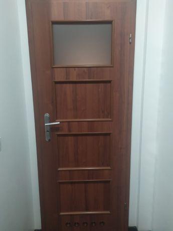 drzwi wewnętrzne łazienkowe i pełne