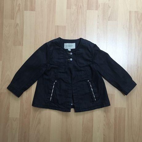 Дитяча куртка burberry детская джинсовка