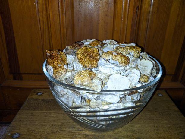 Білі гриби сушені та мариновані, белые грибы сушеные и маринованные